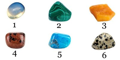 TEST fulger: Alege o piatra si afla ce fel de persoana esti