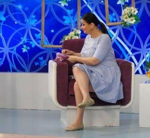 Gabriela Cristea are pofte de graviduta! Ce a mancat vedeta in direct, la tv