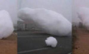 S-au rupt norii si au cazut pe pamant! Fenomen UNIC in istoria umanitatii