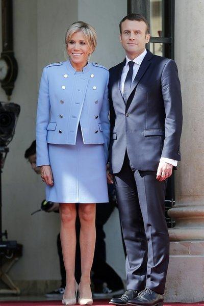 Cum se mentine in forma Brigitte Macron, la 64 de ani