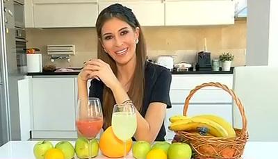Secrete intre fete: Cristina Mihaela a pregatit doua cocktailuri-minune: unul te ajuta sa slabesti, celalalt, sa scapi de celulita!