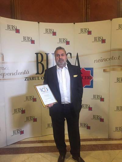 Presedintele Kanal D Haluk Kurcer – Premiu pentru Management Performant in Mass-Media, in cadrul Galei Bursa, Ziarul Oamenilor de Afaceri