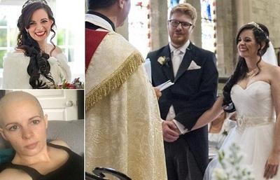 A aflat ca are cancer in stadiu terminal dupa ce s-a casatorit, chiar in luna de miere! Cum au reactionat