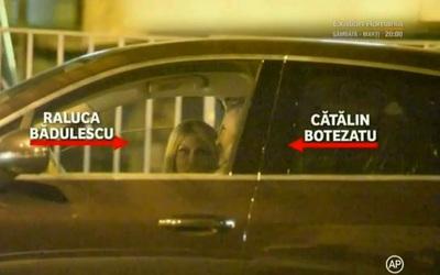 Ce pun la cale Raluca Badulescu si Catalin Botezatu? Paparazzii i-au prins impreuna in masina