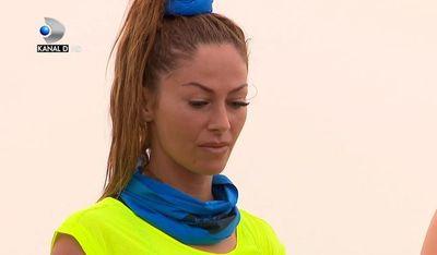 Exatlon 18 februarie. Alina de la Razboinicii s-a prezentat mai sexy ca niciodata la proba. Sanii ei au furat toate privirile