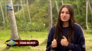 Exatlon 1 aprilie. Diana Belbita, conversatie prin mesaje cu Anda Adam! Artista i-a spus tot ce se intampla acasa