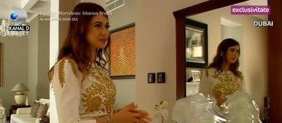 O romanca celebra, viata fara griji in Dubai! Are cinematograf in vila in care locuieste