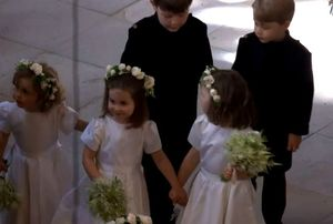 Ce tinute superbe au purtat copiii Printului William la nunta unchiului lor. Charlotte si George au atras toate privirile