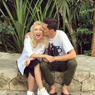 Andreea Balan, roluri schimbate acasa, cu sotul ei