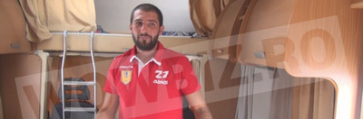 """Am inspectat rulota lui Catalin Cazacu! """"Asta e patul meu matrimonial. Aici dorm singur, de obicei""""! FOTO SI VIDEO EXCLUSIV"""