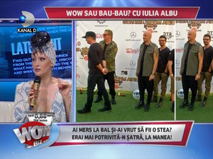 VIDEO Smiley a impresionat-o pe Iulia Albu! A luat trofeul WOW! Trofeul BAU a fost adjudecat de un alt cantaret!