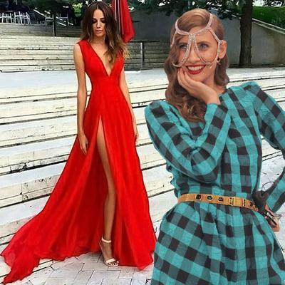VIDEO! Iulia Albu - WOW sau Bau-Bau pe Kfetele.ro - Cum sa porti corect tinutele vestimentare rosii!