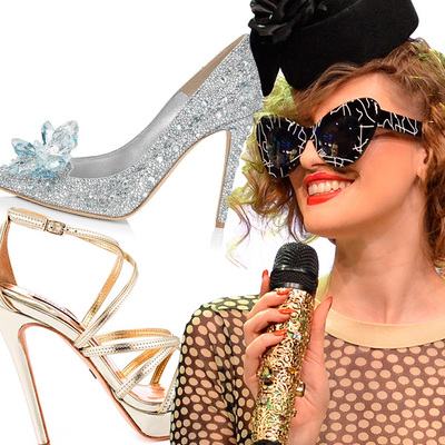 VIDEO! Iulia Albu - WOW sau Bau-Bau pe Kfetele.ro - Cum iti alegi pantofii pentru Revelion