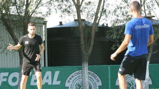 Ştefan Bărboianu a revenit la antrenamente, după şase luni!