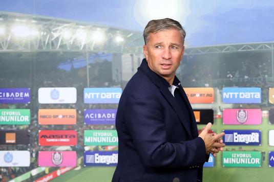 Dan Petrescu se teme de terenul artificial de la Chiajna