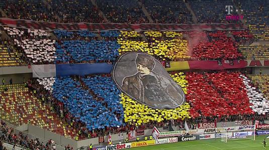 VIDEO | Coregrafii cu iz istoric la derby. 99 de ani regăsiţi în două peluze. Câţi spectatori au fost pe stadion