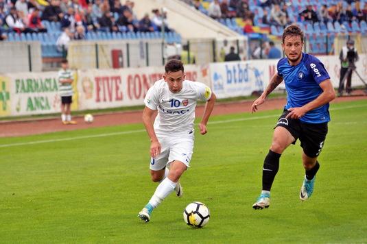 """Moruţan a marcat spectaculos împotriva campioanei: """"Nu ne aşteptam să fim atât de sus"""""""