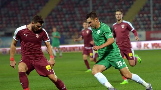 VIDEO | FC Voluntari a pierdut în faţa Concordiei Chiajna, scor 0-1