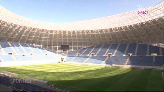 """Surpriză uriaşă! Cu ce echipă ar putea juca CSU Craiova, la inaugurarea noii arene. VIDEO Cum arată acum noul """"Oblemenco"""""""