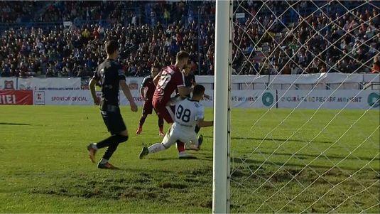 VIDEO | Accidentare groaznică pentru Tudorie, în meciul cu Hermannstadt! E suspect de ruptură de ligamente