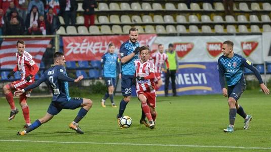 """Costel Enache surprinde după meciul cu Sepsi: """"Am avut mari emoţii în acel moment"""""""