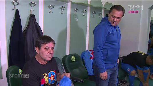 VIDEO EXCLUSIV | Legende pe metru pătrat şi glume peste glume la Chiajna. Steaua '96 a întâlnit România '96 în memoria lui Daniel Prodan