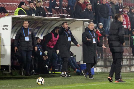 """Dan Petrescu pregăteşte o surpriză pentru meciul cu Dinamo! """"Mi-a plăcut foarte tare la antrenament şi are drept de joc"""""""