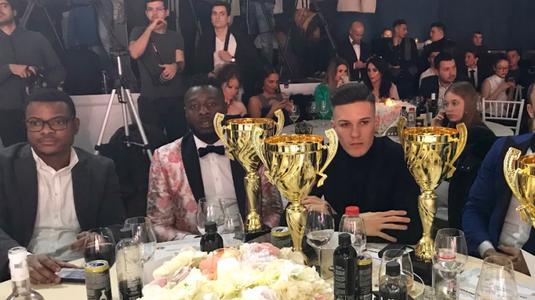 FCSB a câştigat tot la Gala Fotbalului Românesc! Cine a luat premiul pentru cel mai bun fotbalist în 2017