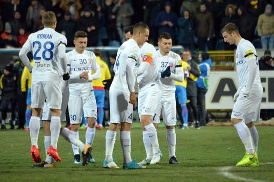 """Jucătorii de la Botoşani se simt în pericol: """"Trebuie să ne trezim. Acum n-avem valoarea necesară să o batem pe Steaua"""""""