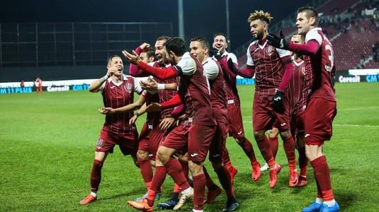 CFR Cluj a învins Rapid Viena, scor 3-1, într-un meci din cantonamentul din Spania