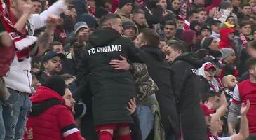 VIDEO EXCLUSIV | Acel moment când toată peluza tace. Reacţia dinamoviştilor la golul lui Teixeira. Ce au făcut Torje şi Nistor