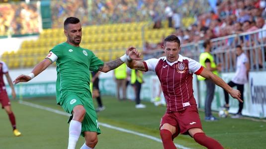 VIDEO | Chiajna - CFR Cluj 0-1. Echipa lui Dan Petrescu îşi menţine avansul faţă de urmăritoare