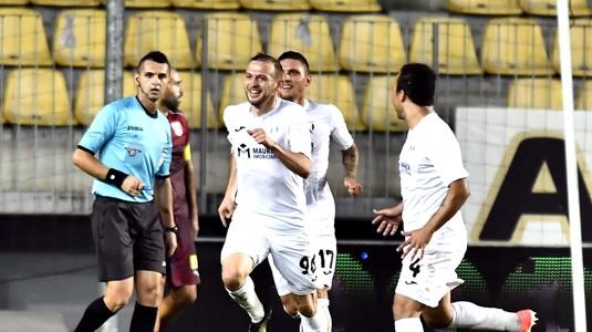 Silviu Balaure conduce topul marcatorilor din Liga 1 I Vezi ultima reuşită a fotbalistului Astrei din meciul cu Viitorul