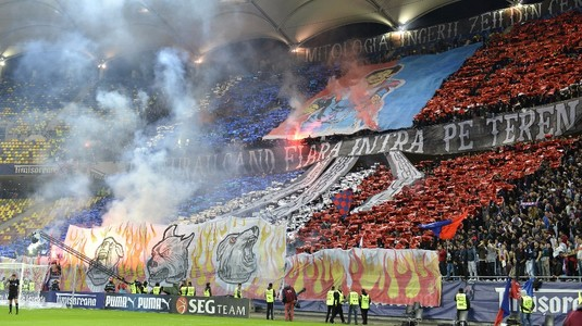 Galerie FOTO. Show în tribune. Cele mai spectaculoase coregrafii de la FCSB-Dinamo!