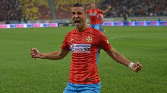 Pariul câştigător al lui Dică! Momcilovic a marcat golul victoriei pentru FCSB