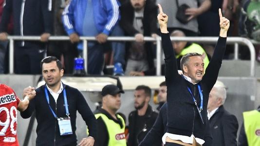 E fericit şi se simte bine! FOTO   Mesajul lui MM Stoica după victoria din derby