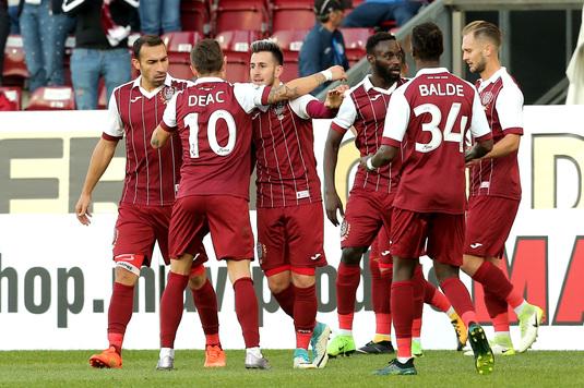 CFR încheie cu o victorie turul Ligii 1. Ce-au declarat clujenii după victoria cu Juventus Bucureşti