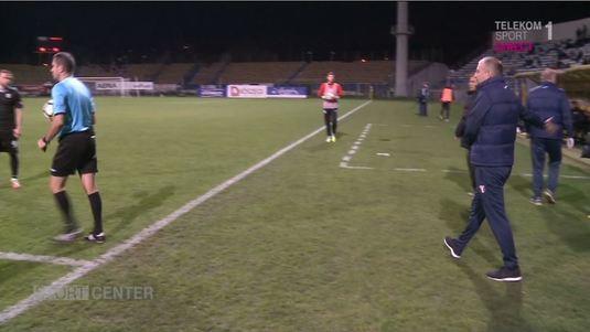 EXCLUSIV   Arbitrii şi-au prelungit pauza intenţionat pentru a evita abandonul meciului Sepsi - Astra