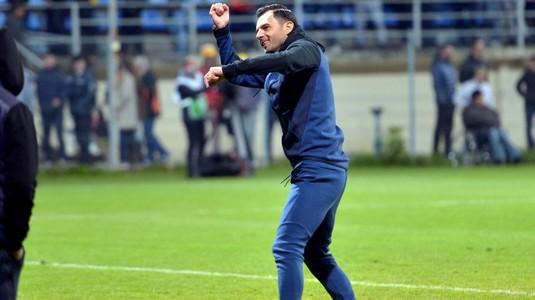 """Dică, surprins de jocul elevilor săi: """"Nu mă aşteptam să marcăm cinci goluri!"""". Ce a zis de Alibec!"""