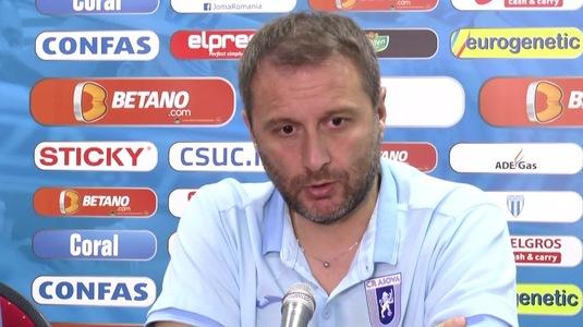 """Ce îşi reproşează Devis Mangia, după 2-2 cu Astra: """"Nu am fost mulţumit deloc"""""""