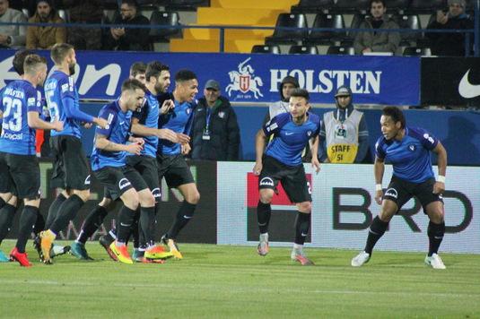 VIDEO | Viitorul s-a distrat cu Sepsi, scor 3-0. A şasea victorie consecutivă pentru echipa lui Hagi