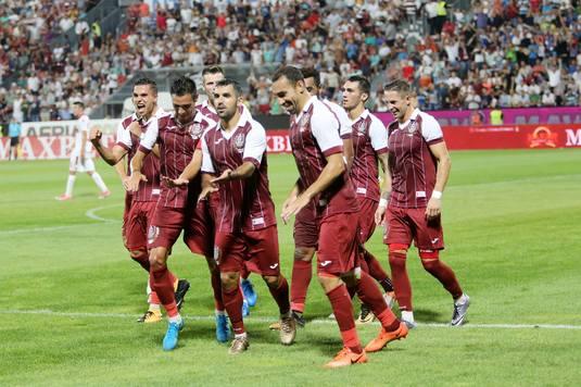 VIDEO | Victorie cu scandal pentru CFR Cluj. Deac a marcat unicul gol al partidei cu Iaşi, după o fază controversată