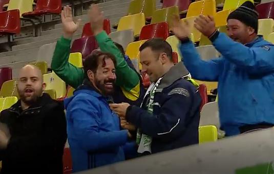 VIDEO   Imaginea serii! Câţi suporteri a avut Chiajna la meciul cu FCSB