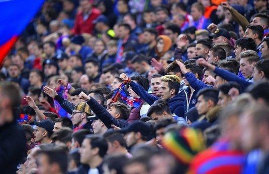 VIDEO   Unic în istoria Ligii 1? :) Ce s-a auzit din boxele stadionului la FCSB - Chiajna