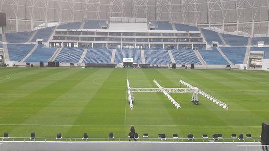 Astăzi se inaugurează noua arenă din Craiova. FOTO | Imagini superbe din vestiar