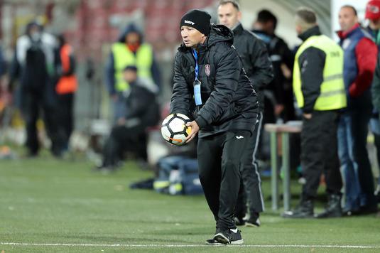 Reacţia lui Petrescu atunci când a aflat că Haţegan va arbitra partina Dinamo-CFR Cluj