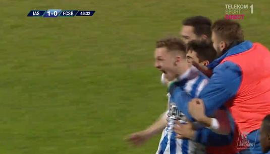 VIDEO | Ionuţ Panţîru are motive maxime de bucurie. Golul cu FCSB a fost primul din cariera lui! Gest impresionant imediat după meci!