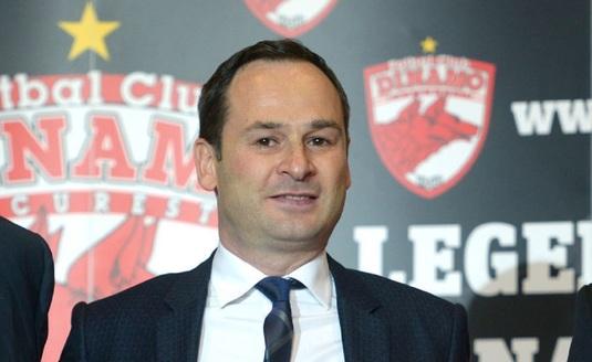 Plecarea lui Negoiţă de la Dinamo, doar o cacealma?! Care este planul fostului finanţator de la Dinamo