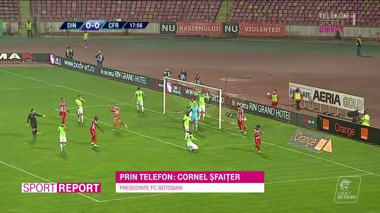 VIDEO EXCLUSIV | Cornel Şfaiţer, încrezător că Dinamo se poate redresa