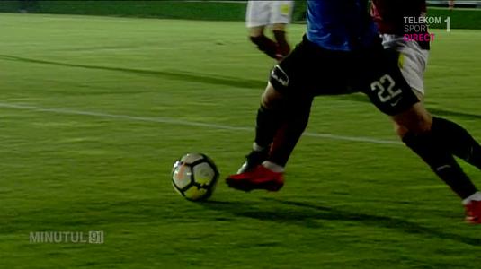 VIDEO | Greşeli flagrante comise de George Găman la meciul FC Voluntari - Viitorul